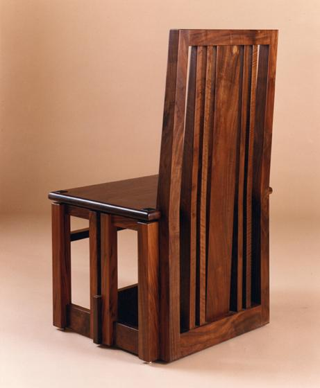 Presider's Chair, back view